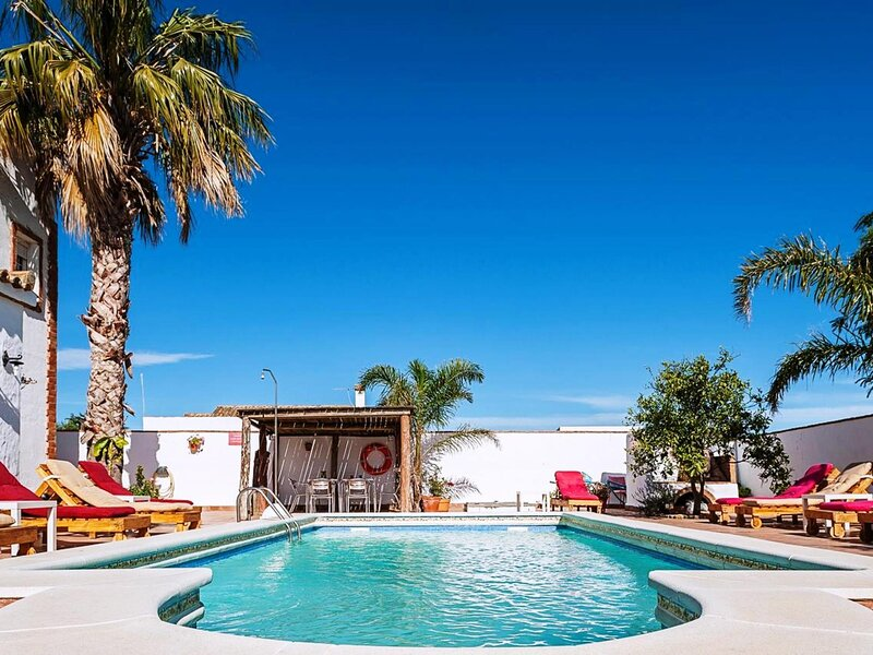 Apartment C with pool only for families – semesterbostad i Fuente del Gallo