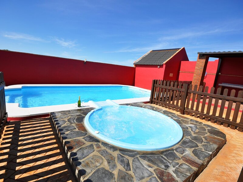 Bungalows with jacuzzi and a pool I – semesterbostad i Fuente del Gallo