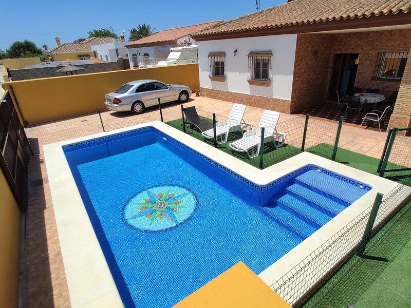 Three bedroom villa with pool – semesterbostad i Fuente del Gallo