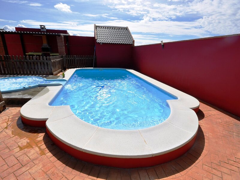 Bungalows with jacuzzi and a pool II – semesterbostad i Fuente del Gallo