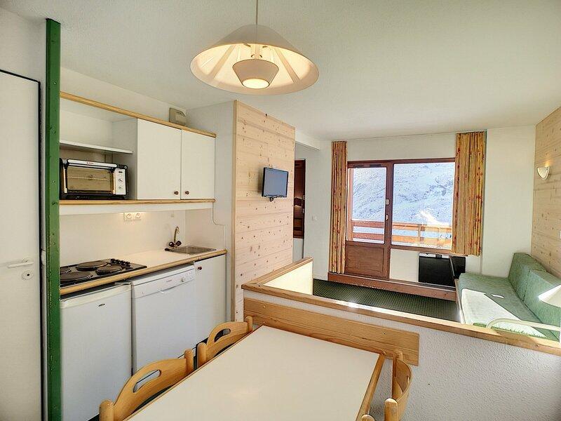 NECOU 416 - 3 pièces 5 pers 35m² ski aux pieds,expo sud ouest, casa vacanza a Les Bruyeres