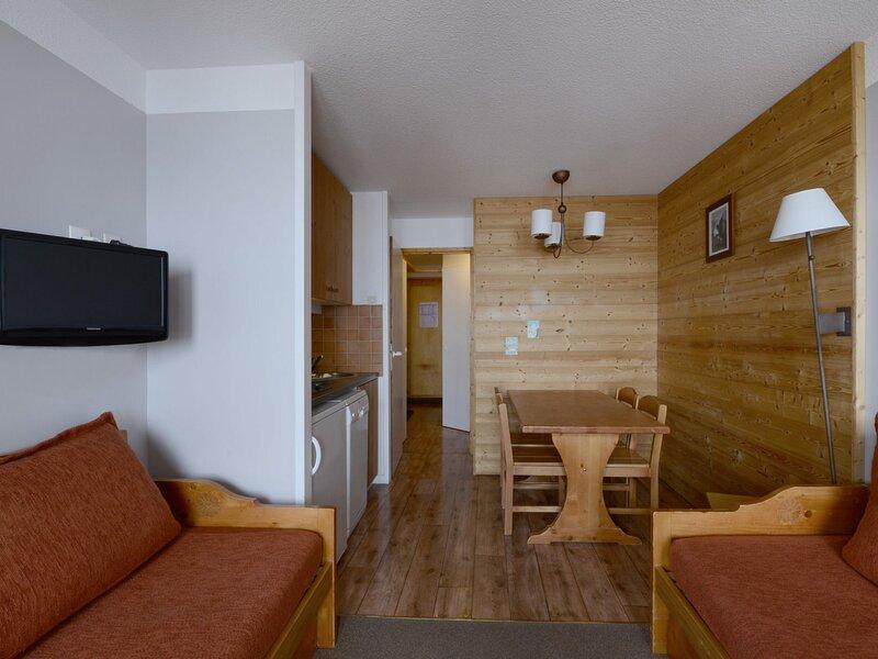 Studio cabine non fermée au pied des pistes pour 4 personnes de 27 m², holiday rental in Belle Plagne