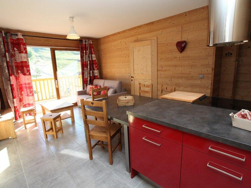 6 pers. 48 m² 3 étage Sud, location de vacances à Fontcouverte-la-Toussuire