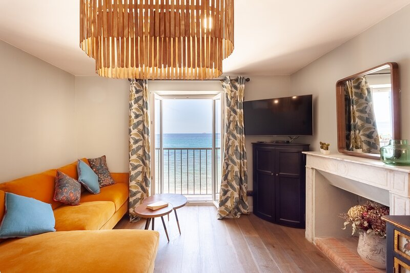 Onaterra - Bel appartement avec vue mer - Plage de Lavasina, holiday rental in Pietracorbara