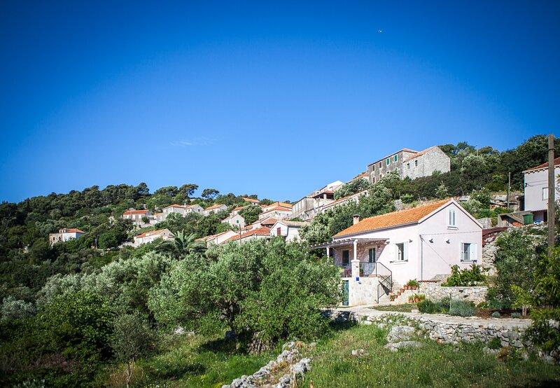 TEUTA Holiday house in the National Park Mljet, casa vacanza a Govedari