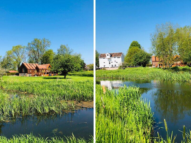 GRANARY MILL COTTAGE luxurious, riverside, en-suites, pet-friendly, WiFi in, holiday rental in Rumburgh