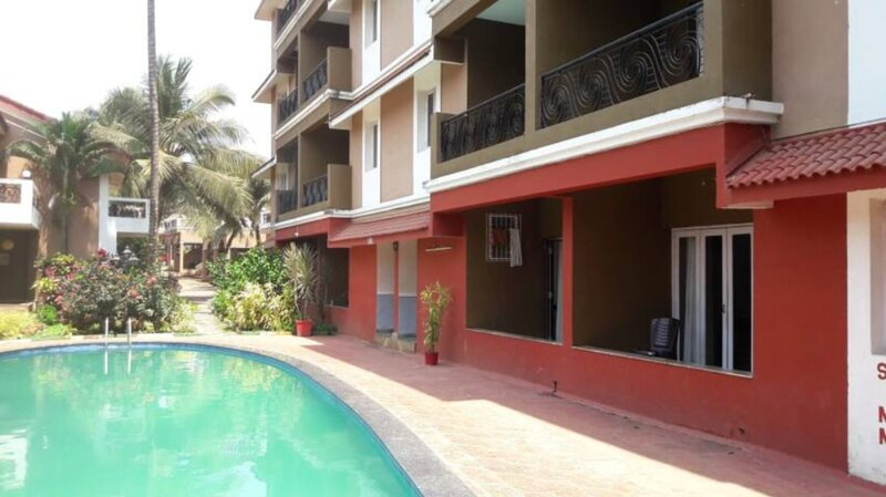 2 Bed Room house +Private Terrace , Calangute (B7), holiday rental in Arpora