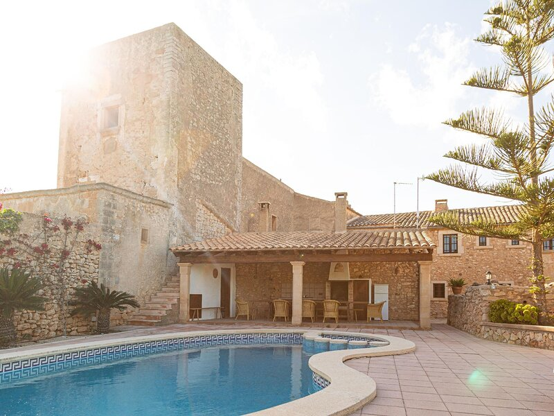 Finca Alqueria Rotja. Country House in Santanyi, vacation rental in Es Llombards