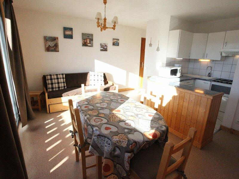 5 pers. 35 m² 1 étage Sud, casa vacanza a Fontcouverte-la Toussuire