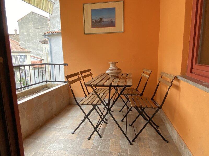 Near Sea - Private Patio, Balcony & 2 Bedrooms, holiday rental in Piran