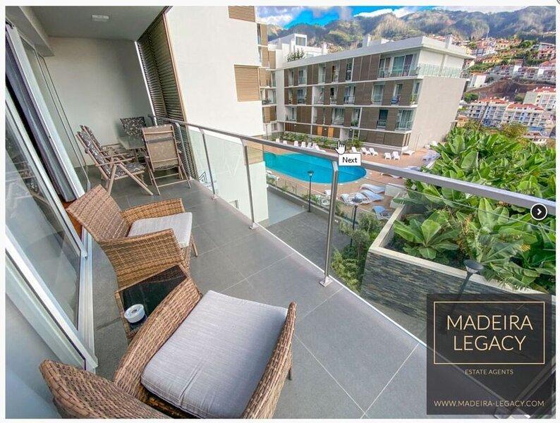 Madalenas Palace- Apartment, Funchal, Madeira, aluguéis de temporada em São Martinho