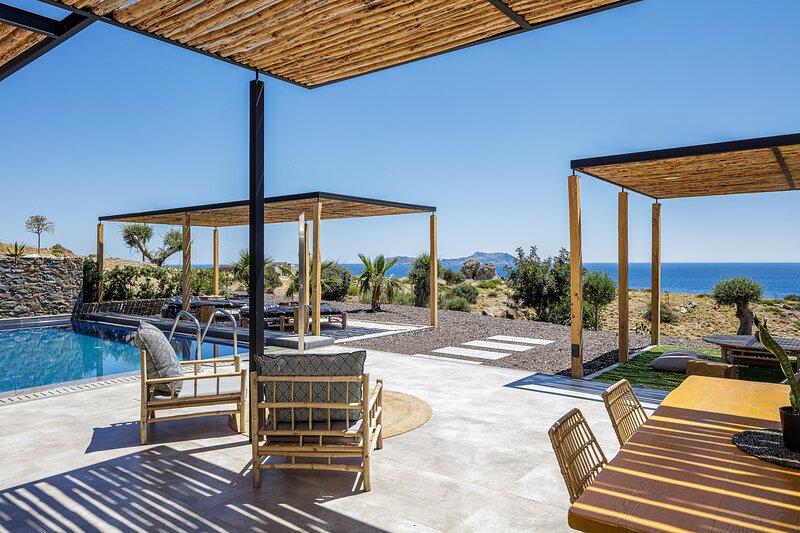 Kumo Villa I - Steps to heaven!, holiday rental in Agios Pavlos