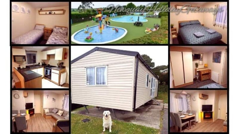 Dog Friendly, 6 Berth Static Caravan on Newquay Holiday Park, holiday rental in Colan