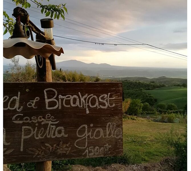Rooms to rent in a B&B country style, vacation rental in Lugnano in Teverina