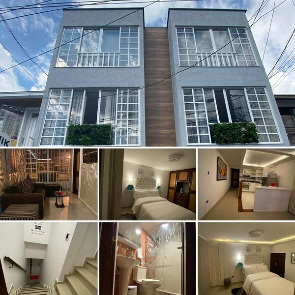 luxsury apartamento bien dotado excelente ubicacion ,termales del otoño,nevado, holiday rental in Manizales