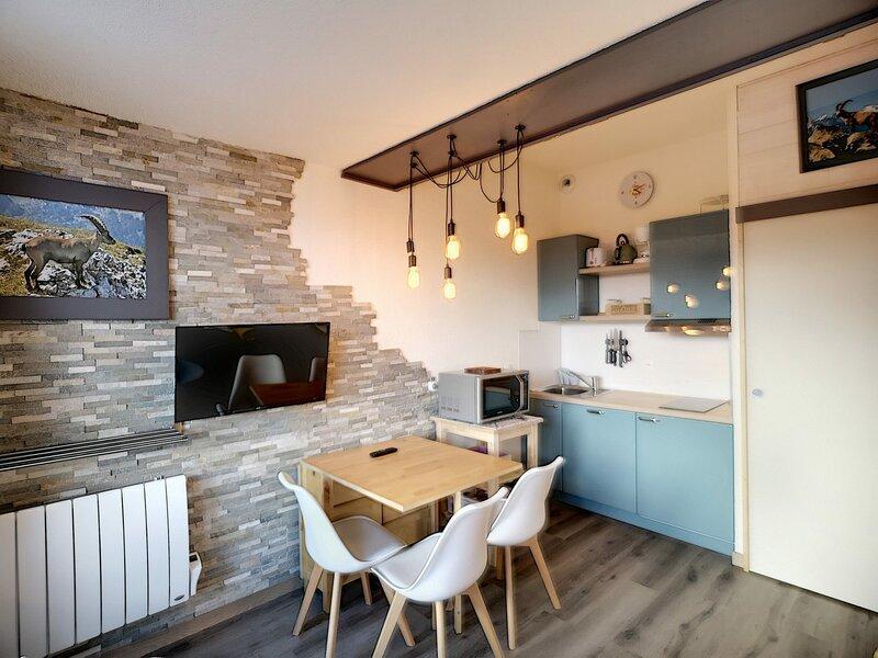 BOEDETTE D 621 - Magnifique studio de 22m², rénové, équipé pour 4 pers, ski aux, casa vacanza a Les Bruyeres