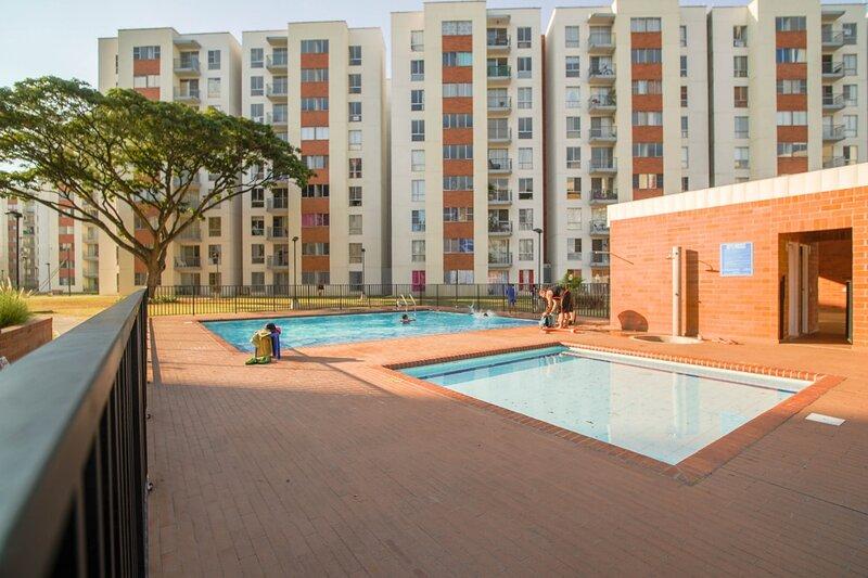 espectacular apartamento por dias,semanas ,meses,bien dotado,parqueadero privado, alquiler vacacional en Jamundi