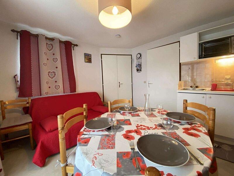 Appartement deux pièces cabine a Praz-sur-Arly, location de vacances à Praz Sur Arly