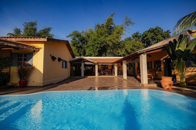 Pesqueiro - rancho com lazer completo em Coxim/MS, holiday rental in State of Mato Grosso do Sul