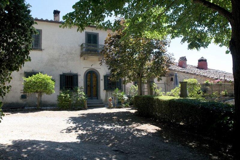 Casa Antico Roseto in the heart of Chianti, vakantiewoning in Lucarelli