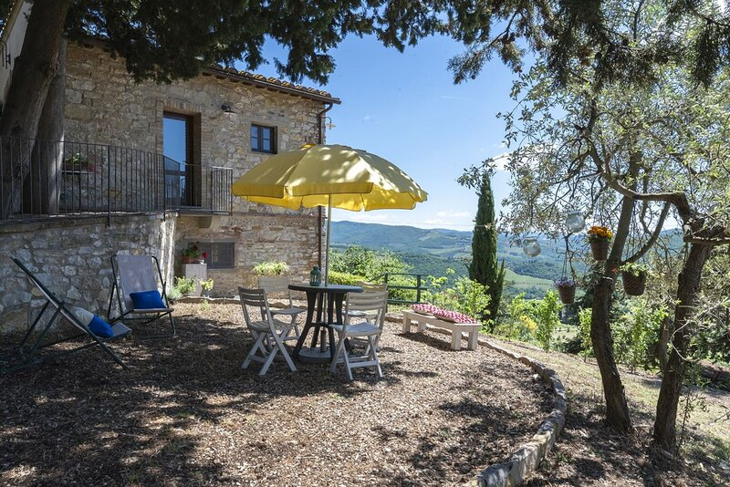 Il Cipresso in the heart of Chianti, vakantiewoning in Lucarelli