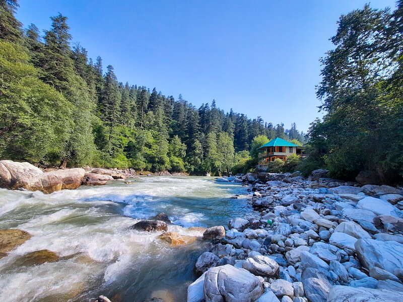 Parvati River Cottage, alquiler vacacional en Jari