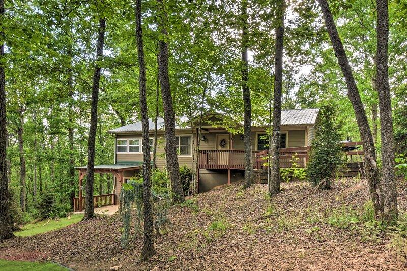 NEW! 'The Ridgeline' at Sautee Mountain Retreat!, vacation rental in Clarkesville