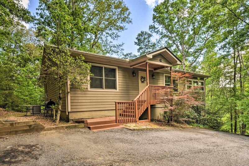 NEW! 'The Hillside' at the Sautee Mountain Retreat, vacation rental in Clarkesville