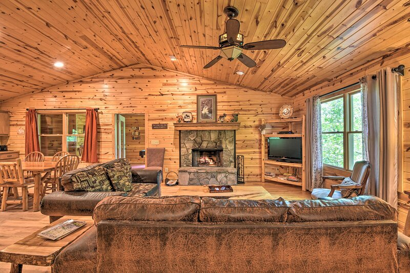 NEW! 'The Valley View' at Sautee Mountain Retreat!, vacation rental in Clarkesville