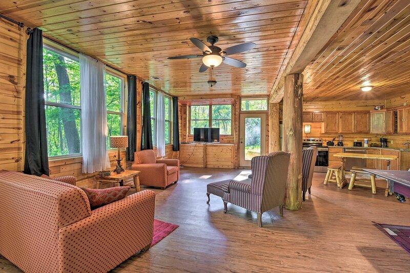 NEW! 'Ridgeline' Cabin at Sautee Mountain Retreat!, vacation rental in Clarkesville