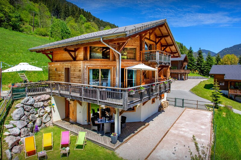 Chalet Levant Blanc - OVO Network, holiday rental in Habere-Poche