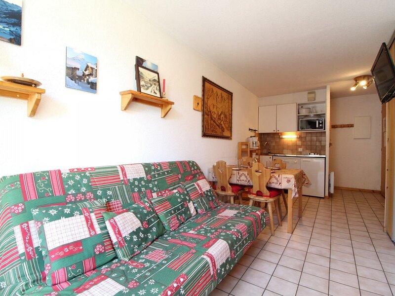 PPA007 Appartement 4 pers - Résidence au pied des pistes, alquiler de vacaciones en Lanslevillard