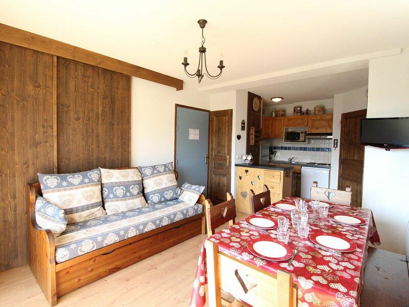 SPO006 Appartement pour 6 personnes avec très belle vue montagne, casa vacanza a Bramans