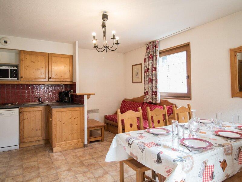 BONA66 - Appartement spacieux au pied des pistes, vacation rental in Lanslevillard
