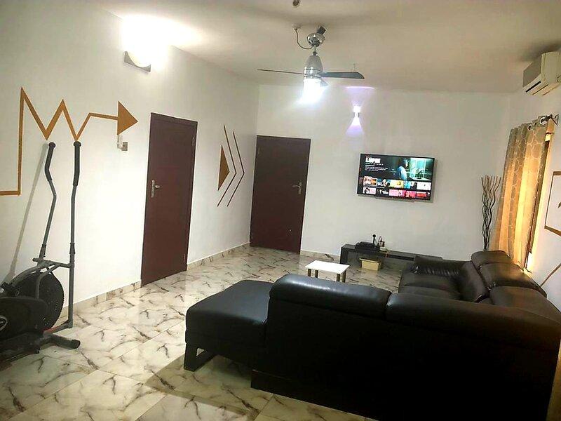 Ikeja Short-lets Lagos 2 Bedroom Apartment, vakantiewoning in Nigeria