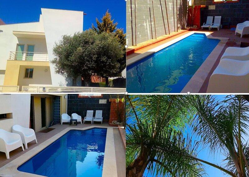 Sesimbra Charming Lux Villa BBK Pool & Lush Garden, alquiler vacacional en Azeitão