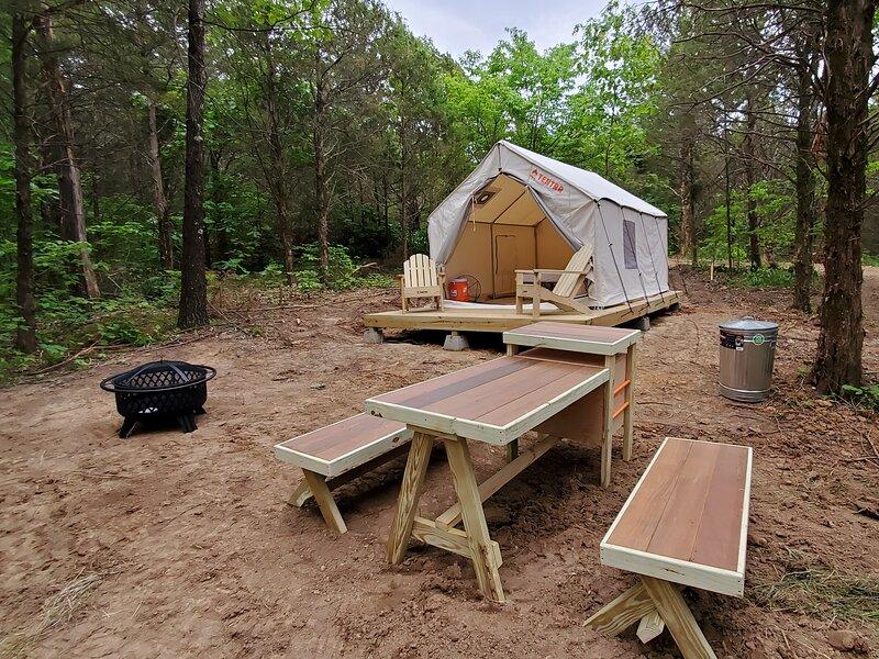 Tentrr Signature Site - Idle Acres Site 1, alquiler de vacaciones en Union