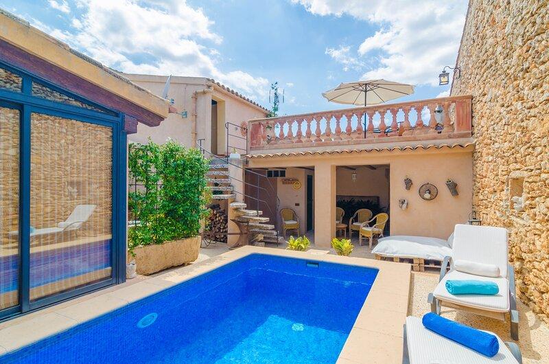 CA NA MISSA - Villa for 4 people in Llubi, holiday rental in Llubi