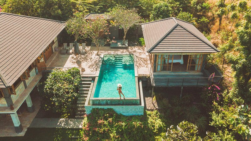 Villa Naga Sumberkima Hill retreat, holiday rental in Melaya