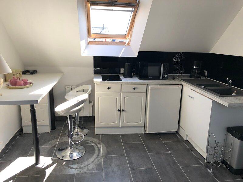 Agréable appartement 2 pièces récent au calme bien situé, holiday rental in Pleslin-Trigavou