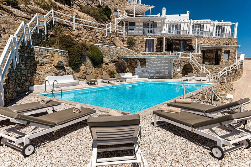 Blue Villa 2, holiday rental in Psarou