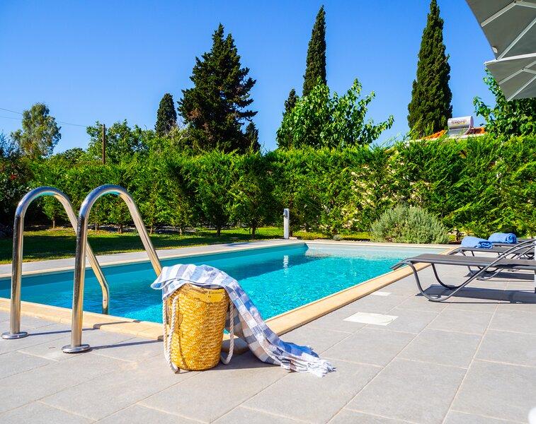 Villa with private pool in Svoronata – semesterbostad i Svoronata