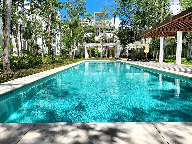 2 bedroom condo located in Aldea Zama, alquiler de vacaciones en Tulum Beach