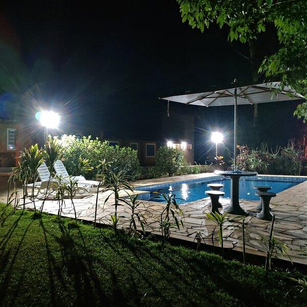 Chácara para Temporada Recanto do Luar, piscina, churrasqueira, playground, holiday rental in Serra Negra