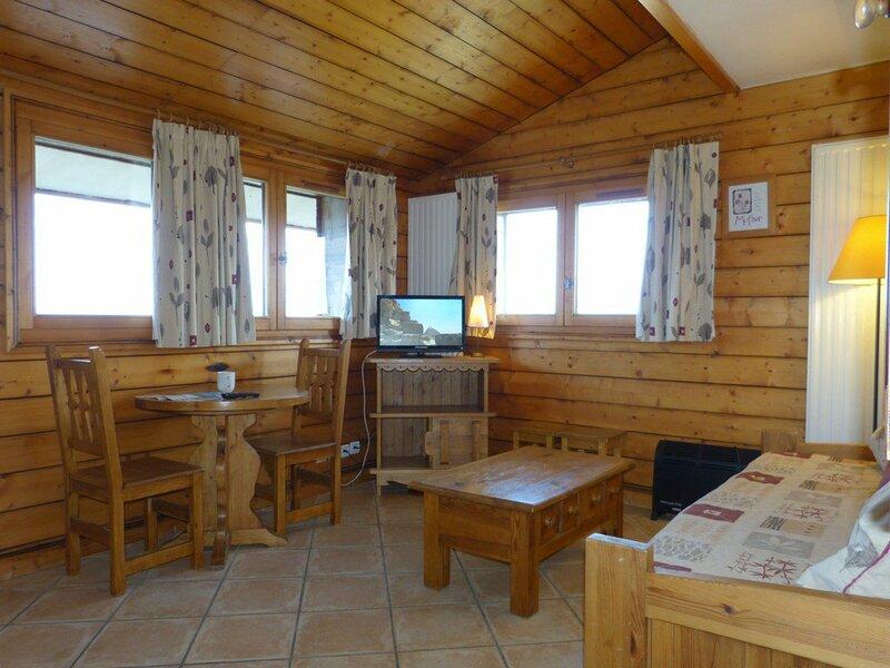 Studio de prestige de 18m² pour 2 personnes, vacation rental in Belle Plagne