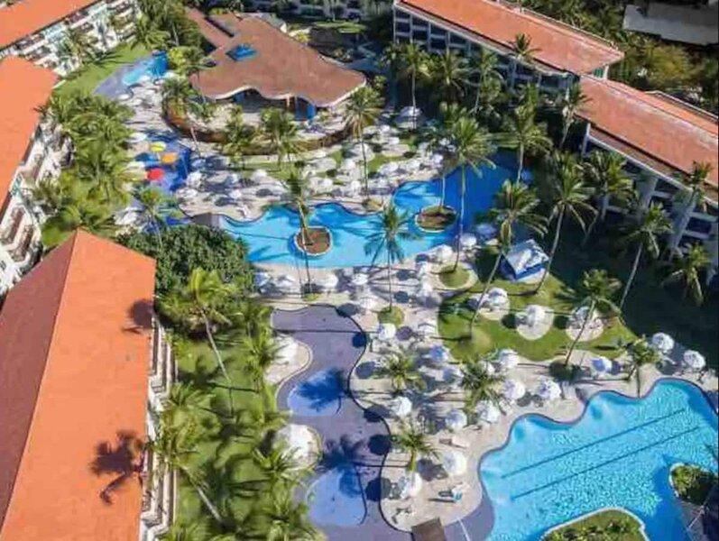 Pé na Areia ,Marulhos resort apartamento 45 m2, casa vacanza a Cabo de Santo Agostinho