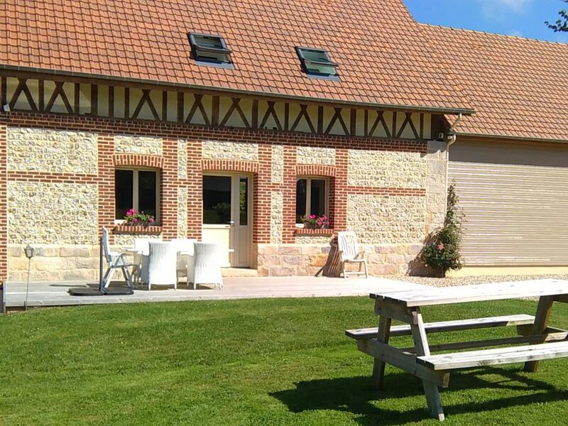 La Maison de la Ferme, alquiler vacacional en Paluel