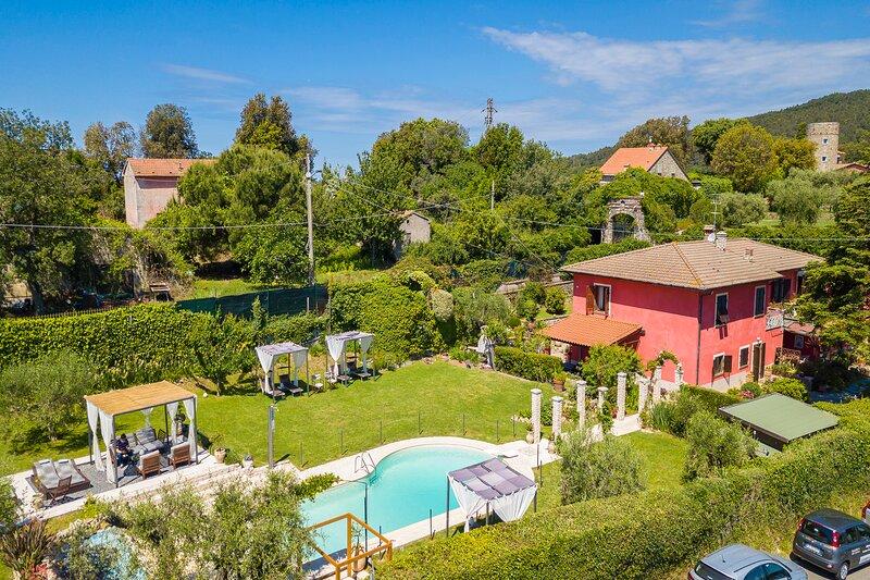 Casa Punta Corvo, aluguéis de temporada em Ameglia