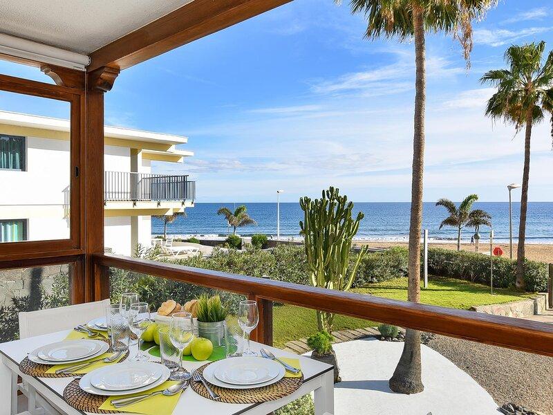 Papagayo San Agustin Beach front Luxury Apartment, holiday rental in San Agustin