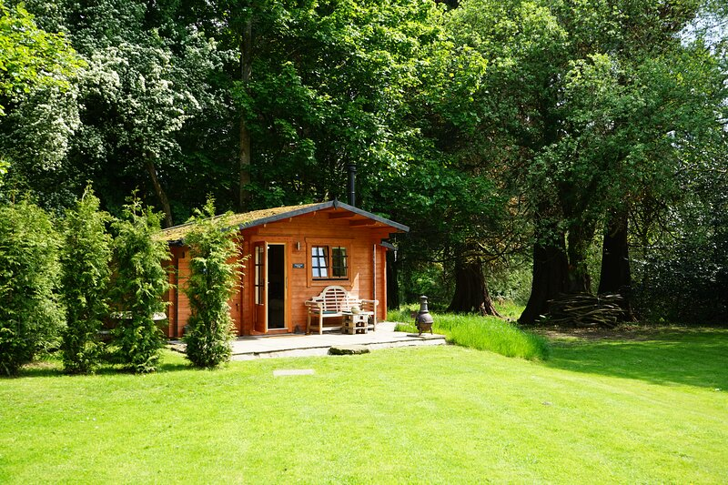 Beautiful  1-bed Log Cabin With Wood Burning Fire, holiday rental in South Lanarkshire